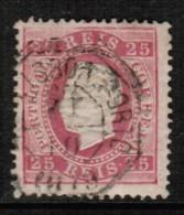 PORTUGAL  Scott # 41 F-VF USED - 1862-1884 : D.Luiz I