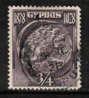 CYPRUS  Scott # 114 VF USED - Chypre (République)