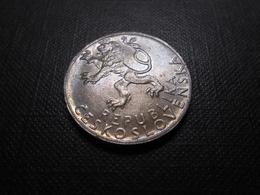 Tschechoslowakei  50 Korun  1947  Silber  Mz P - Lll Vz - Tschechoslowakei