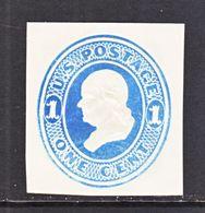 US CUT  SQUARE U  113   *   1874-86  ISSUE - Postal Stationery