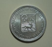 Venezuela 50 Centimos 1960 Silver - Venezuela