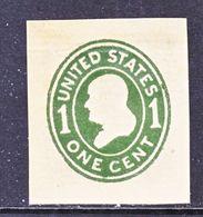 US CUT  SQUARE  W 405 B    DIE III    MANILA    *   1907-16  ISSUE - Postal Stationery