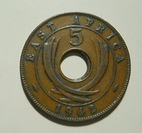 East Africa 5 Cents 1942 To Identify - British Colony