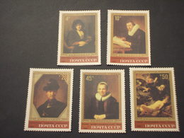 RUSSIA - 1983 QUADRI REMBRANDT  5 VALORI - NUOVI(++) - Unused Stamps