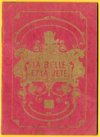 """Petit Fascicule Publicitaire Film """"LA BELLE Et LA BÊTE"""" Réalisé Par Jean COCTEAU (voir Tous Les Scans) Cinéma Publicité - Advertising"""