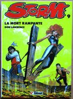 Editions Glénat (1987) > DON LAWRENCE : STORM #9 - La Mort Rampante - Books, Magazines, Comics