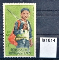 La1014 Yao Jäger, Jagd, Hunter, Hunting, Tracht, Kleidung, Laos 1964 ** - Laos