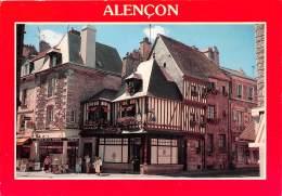 ALENCON Grande Rue Maison Normande 2(scan Recto-verso) MA2244 - Alencon
