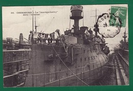 "CUIRASSE "" JAUREGUIBERRY "" A L ARSENAL BREST ? : Très Très Bon état : +3164) - Warships"