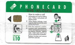 @+ Af Sud 10 U - Girl On Payphone / Complimentary -  Serie TPAB .... 200 000 Ex - NSB - Ref : SAF-034A - Afrique Du Sud