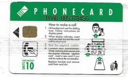 @+ Af Sud 10 U - Girl On Payphone / Complimentary -  Serie TPAB .... 200 000 Ex - NSB - Ref : SAF-034A - South Africa