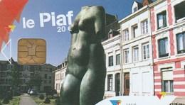 CARTE DE STATIONNEMENT  LE PIAF.VALENCIENNES - France