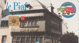 CARTE DE STATIONNEMENT  LE PIAF...VALENCIENNES - France