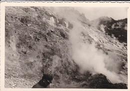 MINI-PHOTOS---ITALIE---POUZZOLES--volcan Solfatare---voir 4 Scans - Places