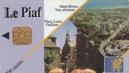 CARTE DE STATIONNEMENT  LE PIAF...ST-BRIEUC - France