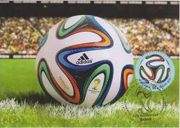 2109 213BL Mih Russia 1892 11 2014 Maxi Cards 2 Brazil Football - Collezioni (senza Album)