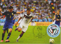 2109 213BL Mih Russia 1892 11 2014 Maxi Cards 3 Brazil Football - Stamps