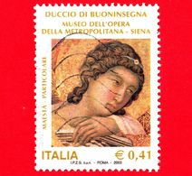 ITALIA - Usato - 2003 - Mostra Di Duccio Di Buoninsegna - Maestà, Opera Di Duccio - 0,41 - 6. 1946-.. Repubblica
