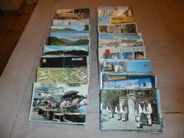 Grand Lot De 1000 Cartes Postales Semi - Modernes Grand Format Du Monde ( Sans Timbres ) 1000 Postkaarten Van De Wereld - Postcards