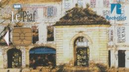 CARTE DE STATIONNEMENT  LE PIAF...ROCHEFORT - France
