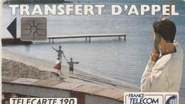 TELECARTE 120 UNITES   .TRANSFERT D'APPEL - France