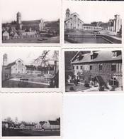 10 MINI-PHOTOS D'éditeur-BELGIQUE--FLORENVILLE--abbaye Notre-dame D'ORVAL---voir 2 Scans - Places