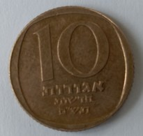 Monnaies - Israel - 10 Agorot 1981 - - Israel