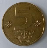 Monnaies - Israel - 5 Sheqalim 1981 - - Israel