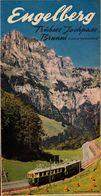 Suisse, Engelberg, Trubsee Jochpass Brunni    (bon Etat) - Tourism Brochures