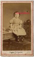 CDV Portrait De Anna CRIGNON Vers 1875/1880 -photo Vivot à Amiens - Old (before 1900)