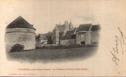 89 - LICHERES, Près Châtel-Censoir - Le Château De Faulin (côté Ouest) - Andere Gemeenten