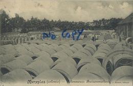 Merksplas : Colonie : Bétonneurs Buizenmakerij  ( Geschreven 1912 Met Zegel ) - Merksplas