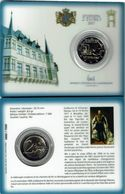 Luxembourg Coincard 2017 Guillaume Lll BU- édition 7500 - Luxembourg