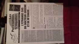 Les Polarophiles Tranquilles  16 L'etrange Cas Du Docteur Greene Et De Mr Chase  8 Pages - Books, Magazines, Comics