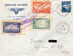 Journée Aéropostale ALGER Par L'Aéro Club De Provence-20/11/26-Vignette. - Marcophilie (Lettres)