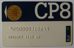 FRANCE - Bull CP8 - Crouzet Test BO - Bull 3 Chip - 1986 - For Telephones - Used - France