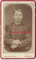 CDV Soldat 145e Régiment-photo J. Brabant Rue De L'esplanade à Maubeuge - War, Military