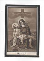 MARIA - LIVINA VAN DORPE °  VLIERZELE EN OVERLEDEN TE SMETLEDE IN 1902 IN DE OUDERDOM VAN 84 JAAR. - Devotion Images