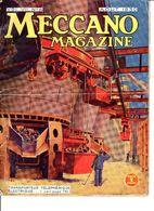 MECCANO MAGAZINE N° 8 De AOUT 1930 - Books, Magazines, Comics