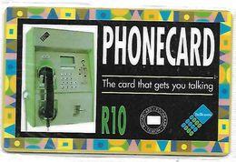 @+ Af Sud 10 U - Wall Monuted Telephone -  Serie SAEGM .... 500 000 Ex - NSB - Ref : SAF-041A - Afrique Du Sud