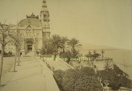 MONTE-CARLO Le Casino Vers 1880 Par DEGAND Grande Photo - Places
