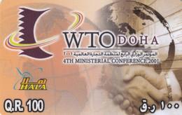 11686-PREPAGATA - QATAR - 4TH MINISTERIAL CONFERENCE 2001 - USATA - Qatar