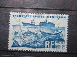 """VEND BEAU TIMBRE DE SAINT-PIERRE ET MIQUELON N° 339 , OBLITERATION """" SAINT-PIERRE ET MIQUELON """" !!! - St.Pierre Et Miquelon"""