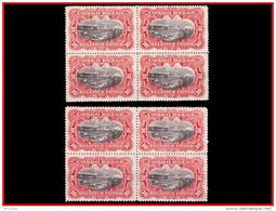 Congo 0055**  T14 Et 15 !  10c  Carmin Bloc De 4   Types Dits  MOL  MNH - 1894-1923 Mols: Neufs