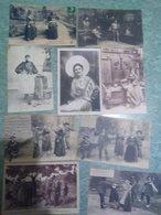 Lot De 250 Cartes Folklore - Postcards
