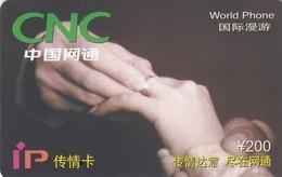 11694-PREPAID CALLING CARD - CINA - USATA - Cina