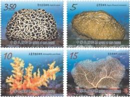 Taiwan 2016 Corals Stamps (III) Coral Ocean Sea Marine Life Fauna Fish - 1945-... Republik China