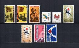 Africa Del Sur   1968-69  .-   Y&T  Nº  313/315-316/317-318/319-320/321 - África Del Sur (1961-...)