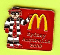 Pin's Mac Do McDonald's Pique Burger Sydney Australie 2000 - 6D16 - McDonald's