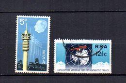 Africa Del Sur   1971  .-   Y&T  Nº  328-329 - África Del Sur (1961-...)